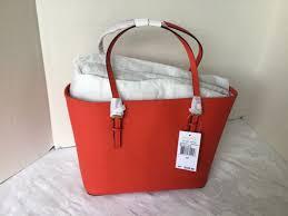 michael kors jet set travel tote saffiano leather small 30h1gtvt1l mandarin