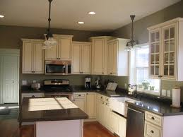 Innovation Kitchens With White Cabinets And Green Walls Ideas Inspiration