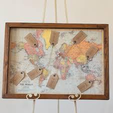 World Map Wedding Table Plan The Wedding Of My Dreams
