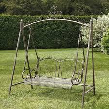 antique 2 seater swing seat
