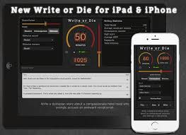 write or die words written today  write or die ios
