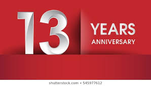 Image result for 13 years