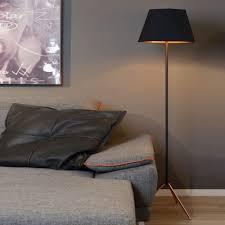 Stehleuchte Alegro Schwarz Gold E27 In 2019 Stehlampe