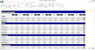 Sample Personal Budget Templates Yearly Budget Template Excel Openingsrelay Club