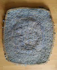 home home gifts home decor blue denim rag rug