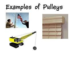 screw examples. Pulley Examples Screw
