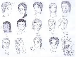 hunger games characters by dshamilja