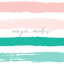 Teal And Pink Stripes Background Pattern Cute Pink And Teal Green Striped Background