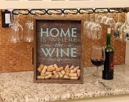 14 cork holder wall decor 12x16 wine art