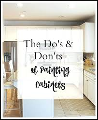 painting kitchen cabinets the dos and to easily paint your kitchen cabinets a step by refinishing