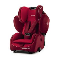 recaro germany young sport hero indy red child seat 9 36 kg