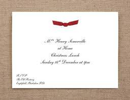 At Home Invitation Ribbon At Home Invitation