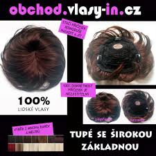 Tupé Se širokou Základnou Z Lidských Vlasů Příčesek Vlasy Incz