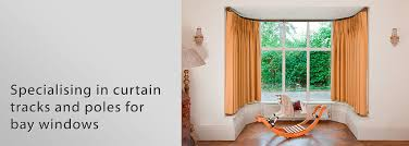 bay window curtain track or pole redglobalmx org