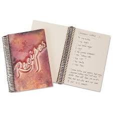 Recipe Journals Copper Recipe Journal Coppery Brushed Coppers Recipes