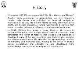 epidemiology an overview 3