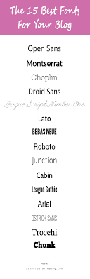 17 best ideas about best fonts fonts 20 best blog fonts popular fonts to use on your blog