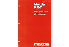 mazda rx7 10 1980 factory wiring diagram manual supplement mazda rx7 10 1980 factory wiring diagram manual supplement