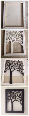 Diy Art Best 25 Cut Out Canvas Ideas On Pinterest Art Cut Cut Outs And
