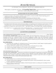 Resume Samples For Accounting Best Solutions Of Good Accounting