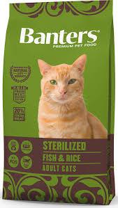 <b>Сухой корм</b> для кошек <b>Banters Sterilized</b> рыба с рисом 8 кг ...