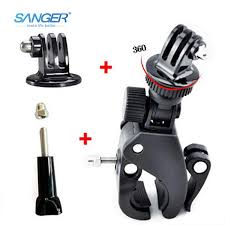 <b>SANGER</b> for Gopro Accessories Rotatable Bicycle Handlebar Mount ...