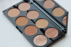 bronze blush contouring palette cream pressed middot all makeup revolution bronzer palette