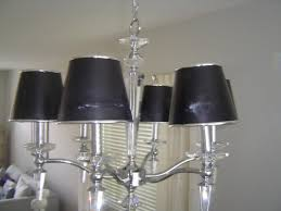 black chandelier lamp shades home design decorating ideas