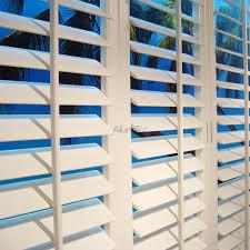 ws 007 basswood wooden jalousie shutter window louvres ventilation partition
