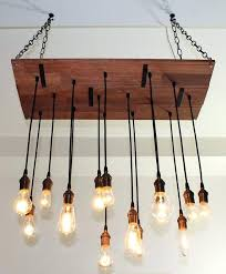 reclaimed barn wood chandelier with varying by pottery elena bead barn wood chandelier