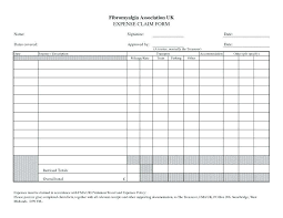 employee expense reimbursement form sample travel and expense policy readleaf document