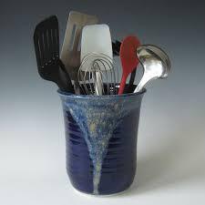 Kitchen Utensil Holder Custom Kitchen Utensil Holder By Eden Pottery Custommadecom