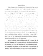 coral reef reflection essay coral reefs reflection prompt  2 pages field trip reflection essay