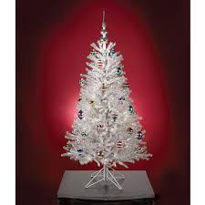 Unique Christmas Trees Glittering Silver Christmas Trees Make A Brilliant Comeback