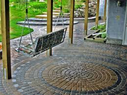 wonderful exterior garden decoration design in outdoor patio flooring ideas comely exterior garden decoration design