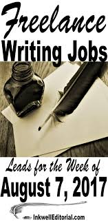 lance writing job leads for inkwell editorial lance writing job leads including blogging jobs seo writing jobs etc