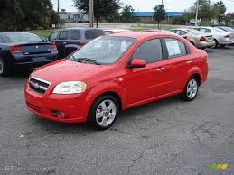 2008 Victory Red Chevrolet Aveo LT Sedan #1529253 | GTCarLot.com ...