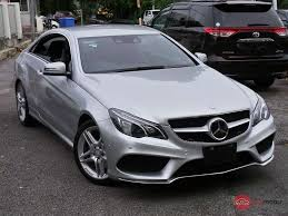 2013 Mercedes-Benz E-Class Coupe for sale in Malaysia for RM278 ...