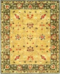 craftsman style area rugs arts and crafts medium size of folk wool modern cr