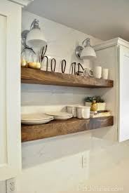 from kris at driven by decor her kitchen remodel uses exactly the type of clever kitchen idea we are talking about this open shelving even wraps around