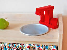 Remodelaholic  Build A Kids Sand And Water Table From An Old SinkKids Kitchen Sink
