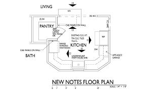 Kitchen Design Plans Kitchen Floor Plans With Island And Walk In Pantry Amazing Design