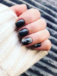 50 beautiful snowflake nail art designs