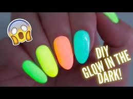 diy glow in the dark nail polish you