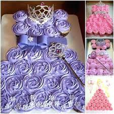 Simple Disney Princess Cake Ideas Pull Apart Cupcake Tekhno