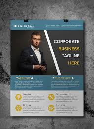 Business Brochure Psd Template Free Corporate Business Flyer Psd