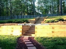 retaining wall ideas wood google search diy garden