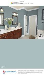 bathroom color ideas for painting. I Found This Color With ColorSnap® Visualizer For IPhone By  Sherwin-Williams: Rain · Interior Paint ColorsPaint Bathroom Ideas Painting