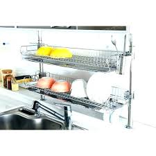 wall mount dish drainer wall mounted dish rack hanging dish drying rack post type dish rack