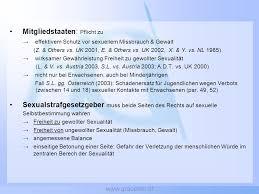 Jugendschutzgesetz sexualität österreich